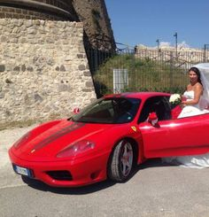 Una Ferrari 360 Modena per il giorno più bello della tua vita!!!