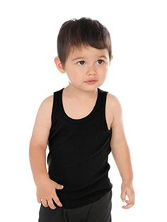 Kavio Unisex Infants Beater Tank Same I2C0236 Black 12M -- More info could be found at the image url. (This is an affiliate link) #BabyBoyTops