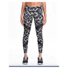 Results of voting on which workout compression tights from Old Navy? | Outfit Me Tonight
