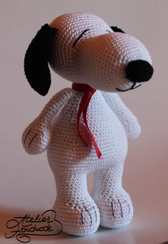 #crochet, free pattern, Snoopy, amigurumi, dog, stuffed toy, #haken, gratis patroon (Engels), hond, knuffel, speelgoed, #haakpatroon