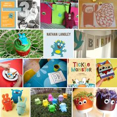Monster/ Ugly Doll 1st Birthday