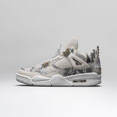 Air Jordan IV Retro Light Bone / White — Pure Platinum — Wolf Grey