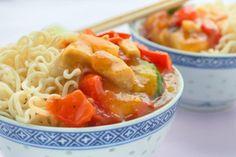 Thai-Huhn süss-sauer