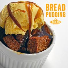 Use leftover bread from Texas Roadhouse to make this yummy bread pudding!