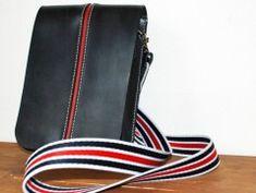 Simira - Dívčí kožená kabelka - kane72 Cross Body, Monogram, Red, Bags, Fashion, Handbags, Moda, Fashion Styles, Monograms
