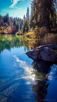 2-Seen-Wanderung vom Crestasee zum Caumasee | Reisememo Beautiful Scenery, Beautiful Landscapes, Beautiful Landscape Photography, Seen, Switzerland, Journey, Mountains, Nature, Outdoor