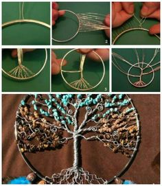 DIY tree of life. Use for Dream-catcher ?