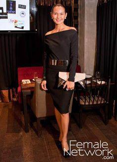 TWEETIE DE LEON-GONZALEZ in  Vintage Rhett Eala top, Zara skirt, M)phosis belt, Aldo clutch, Charlotte Russe shoes at PMAP's Fundraising Party.