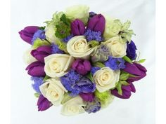 another purple tulip bouquet