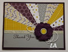 LA Stamper, Stampin' Up!, Moonlight DSP Starburst Technique.  Visit blog for a how to video