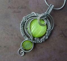 Wire Wrapped jewelry handmade / wire wrapped by PillarOfSaltStudio