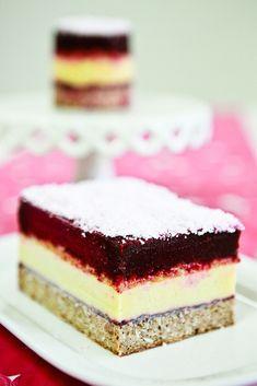 "Sweet & Salty Ice Cream Layer Cake (a.k.a ""Balsamic Beet Sorbet, Mango Lassi Ice Cream, Salted Maple Caramel Crunch, Coconut Pound Cake"" Layer Cake)"