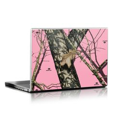 Laptop Skin - Break-Up Pink by Mossy Oak
