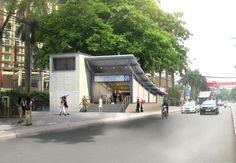 [Renderings] What the Nhon-Hanoi Metro Line Will Look Like in the Future - Saigoneer