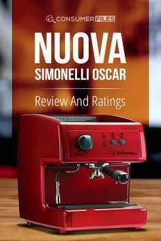 This #NuovaSimonelliOscar review will help you decide if it's the right home #espressomachine for you. via @consumerfiles