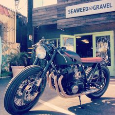 CB750 build from the Seaweed Garage