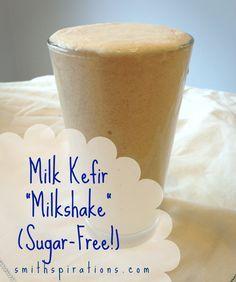 "Milk Kefir ""Milkshake"" {Sugar-Free & Candida Safe}"