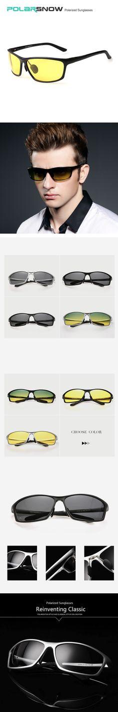 55547d470 Top Quality Polarized Night Driving Mirror Sunglasses Men Sports Sun  Glasses For Day Male Eyewear Lentes De Sol Oculos Masculino $25.96