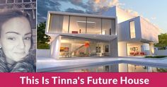 What Does Your Future House Look Like? Exterior Stain, Glass Cube, Construction, Desktop Pictures, Modern House Design, Future House, Luxury Homes, Stained Glass, Villa
