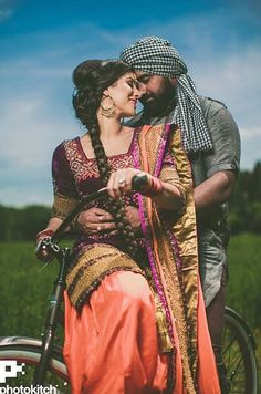 Wedding Photography - wishing for easy ways on catching the jaw-dropping wedding snaps? Then pop to the excellent pinned image number 5838262239 this instant. Pre Wedding Poses, Pre Wedding Shoot Ideas, Pre Wedding Photoshoot, Wedding Pics, Wedding Couples, Punjabi Wedding Couple, Punjabi Couple, Desi Wedding, Cute Couple Poses