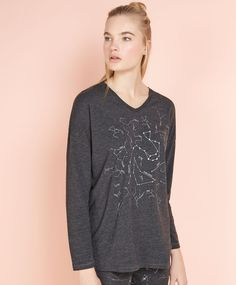 Camiseta constelaciones - OYSHO