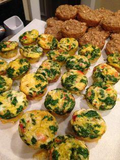 Toddler Breakfast Ideas:  Mini Omelets (Cows Milk Free!)