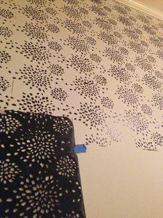 Reader DIY: Fireworks Wall Stencil