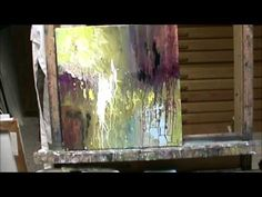 More Millie! ACRYLIC ABSTRACT DEMO PART 3 By Millie Gift Smith....speakers on.