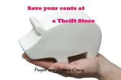 Save your Cents at a Thrift Store