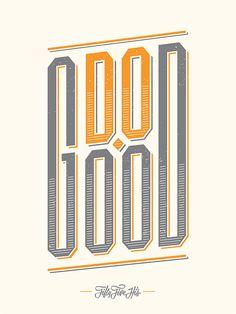 Do Good // typography