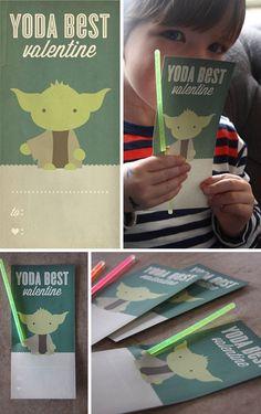 Printable Star Wars Valentine