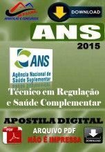 Apostila Digital Concurso ANS Tecnico em Regulacao em Saude Suplementar 2015