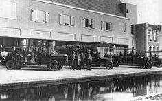 Na de brand in de oude brandweerkazerne in 1929 is de bouw van een nieuw onderkomen begonnen. Het gebouw is een stuk naar achteren geplaatst...