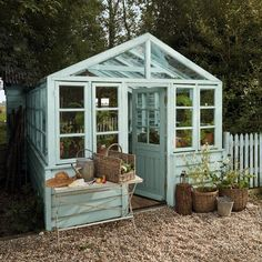 Veggie patch shed/greenhouse