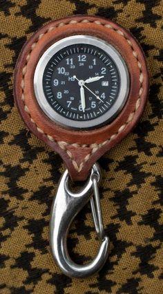 Leather Watch #Handmade #Leather #Accessories http://www.waxhaws.com/