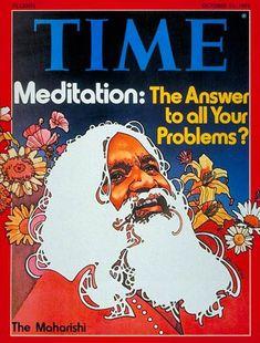Maharishi Mahesh Yogi,  Transcendental Meditation,  / The Beatles, India, 1968
