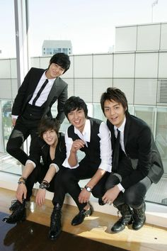 "Kim Bum, Kim Hyun Joong, Lee Min Ho & Kim Joon - ""Boys Over Flowers"" (花樣男子…"