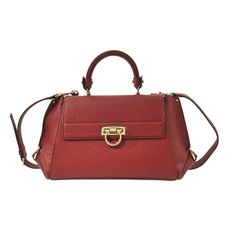 Bags | Salvatore Ferragamo | Handbags & Purses | Leather | Red | Sofia Med