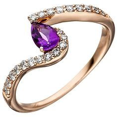 Dreambase Damen-Ring W SI wesselton 14 Karat (585) Rotgol... https://www.amazon.de/dp/B01IO7DDLI/?m=A105NTY4TSU5OS