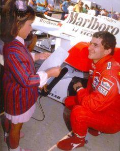 Ayrton Senna- Luckiest child ever!!!!