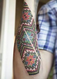 Ethnic tattoo