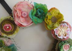 papertowelflowers