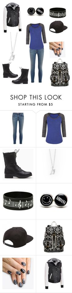"""""""Midnight Musician"""" by willasippel ❤ liked on Polyvore featuring mode, rag & bone, maurices, Vans, SM New York, alfa.K et Black Rivet"""