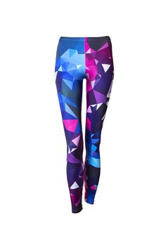 Fitness legíny Crystalize Crossover, Crystals, Fitness, Pants, Fashion, Audio Crossover, Trouser Pants, Moda, Fashion Styles