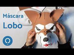 Cómo hacer una máscara de lobo feroz (1/2) - YouTube