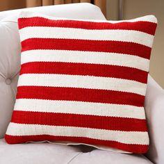 Mooresboro Striped Wool Throw Pillow