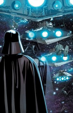 Star Wars Forever — starwarsgalaxys:   Darth Vader #9  Cover Artist:...
