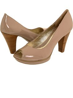2ad517285f8 another nude heel option Peep Toe Shoes