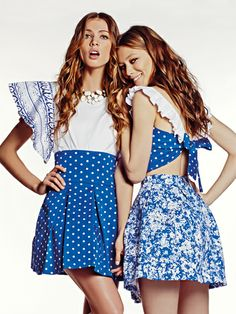 #polka_dots or #floral? It's up to you!