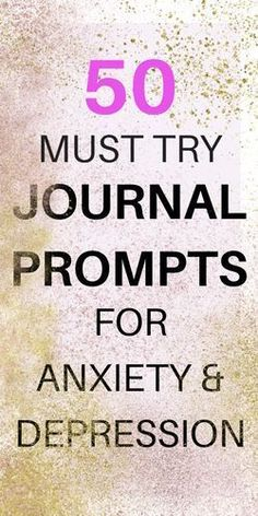Journal Writing Prompts for Depression and Anxiety - Radical Transformation Project #PanicAttackPrayer